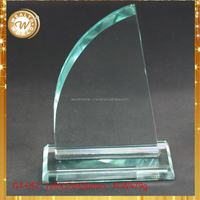 Top grade Best-Selling promotional crystal glass dove trophy