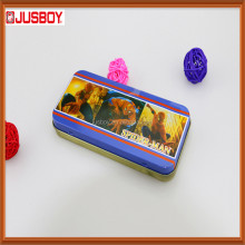 cartoon pictures tin case ,pencil case,metal pencil box