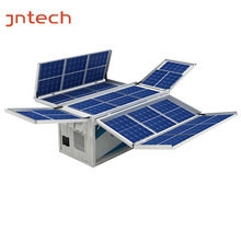 Container energy storage system mobile solar off grid inverter with charger 15KVA battery