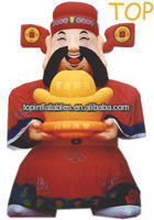 NEW Hot-Selling inflatable Gods of Wealth cartoon,inflatable mascot