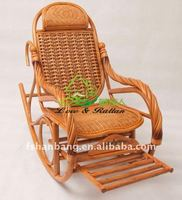 cane swivel rocking chair