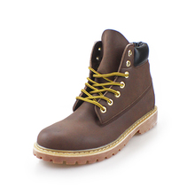 2018 Fashionable standard ventilate factory wholesale leather boots winner boots