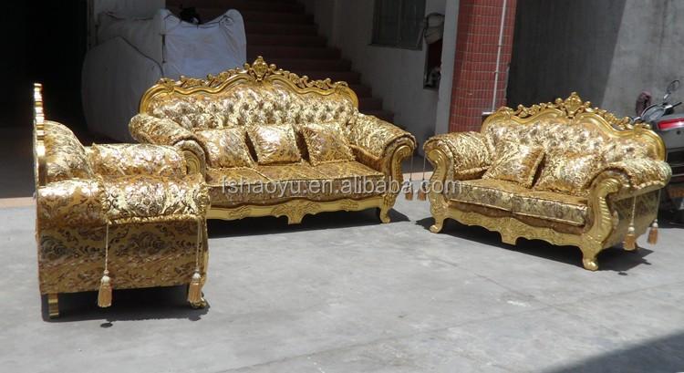 Royal living room sofa muebles sof de dise o de oro de - Royal design muebles ...