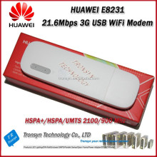 Original Unlock HSPA+ 21.6Mbps E8231 GSM 3G WiFi USB Dongle