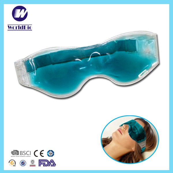 Reusable gel ice pack cold eye mask ice pack eye mask travel sleep eye mask