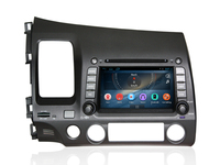 for honda civic (LHD) 2008- 2011 car stereo 7 inch android car dvd player