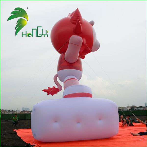 Giant Advertising Custom Inflatable Sun Shaped Billboard / Floating Large Helium Balloons With Factory Price