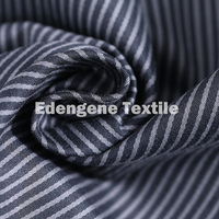 cotton stretch stripe yarn dyed woven fabric