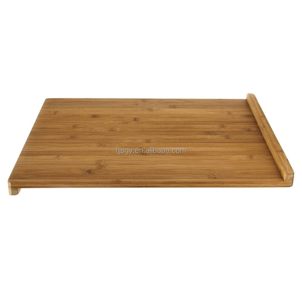 new bamboo rectangular cutting board with stop edge ,chopping block chopping board