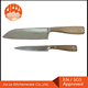 Stainless Steel Kitchen Chef Knife Set with Wooden Handle