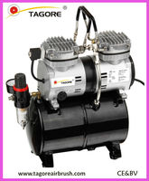 Cylinder Airbrush air compressor with tank 3.5L for makeup