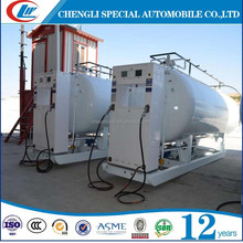 containerized mobile filling station both for lpg skid station