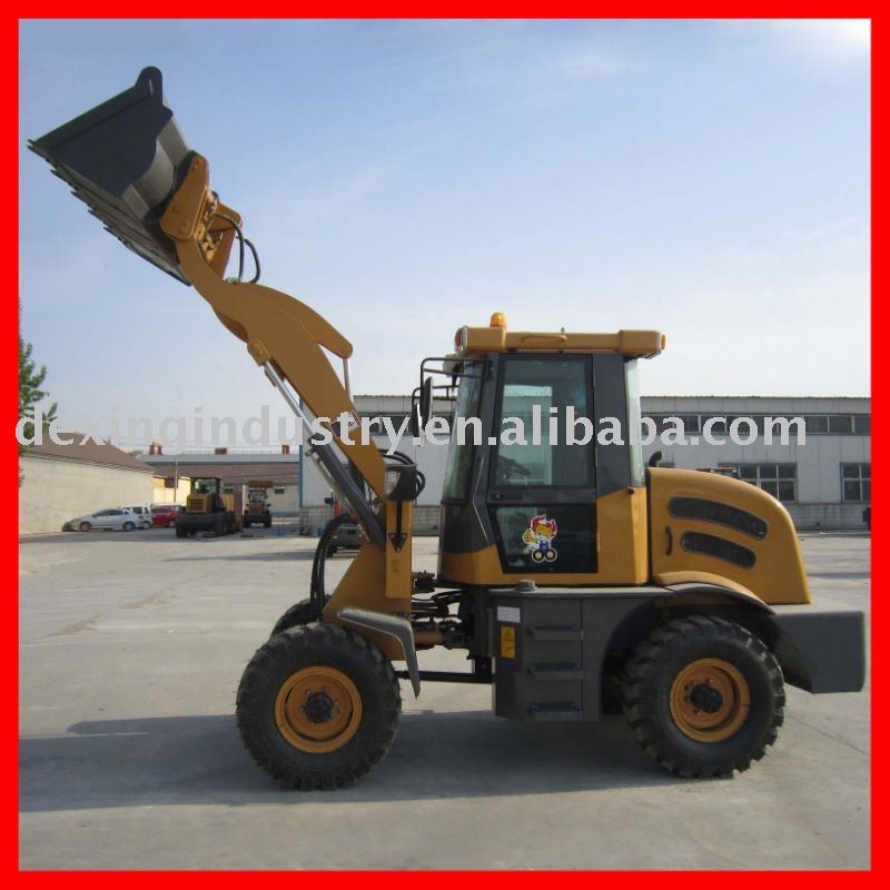 Hot Sale 1.2T loader machine ZL12F with CE