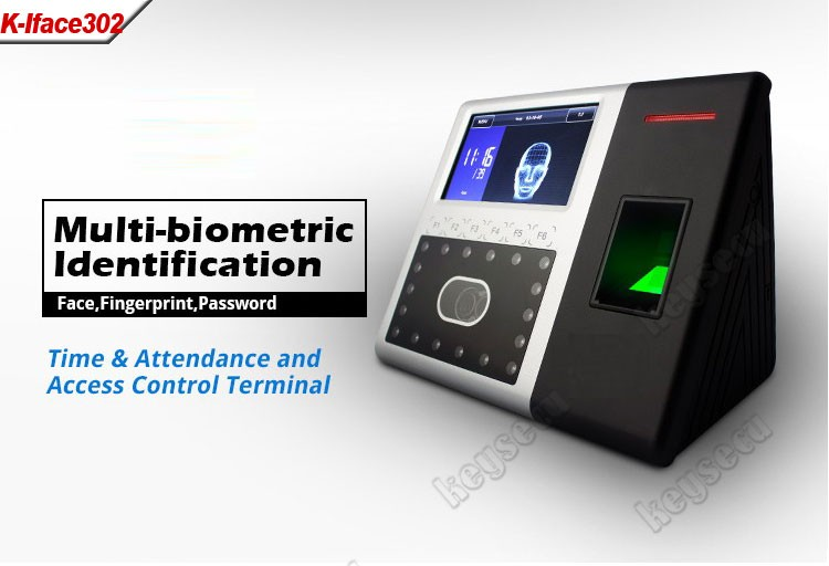 ZKSoftware iFace 302 Biometrics Facial Recognition Time Attendance System