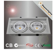 SAA CE Recessed 30W White LED Square downlight