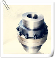 Manufacture design types of stainless steel flexible shaft gear coupling