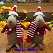 competitive price christmas reindeer table decorations