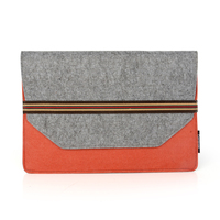 Fashionable felt fabric tablet case for Macbook Air 11.6 inch case sleeve
