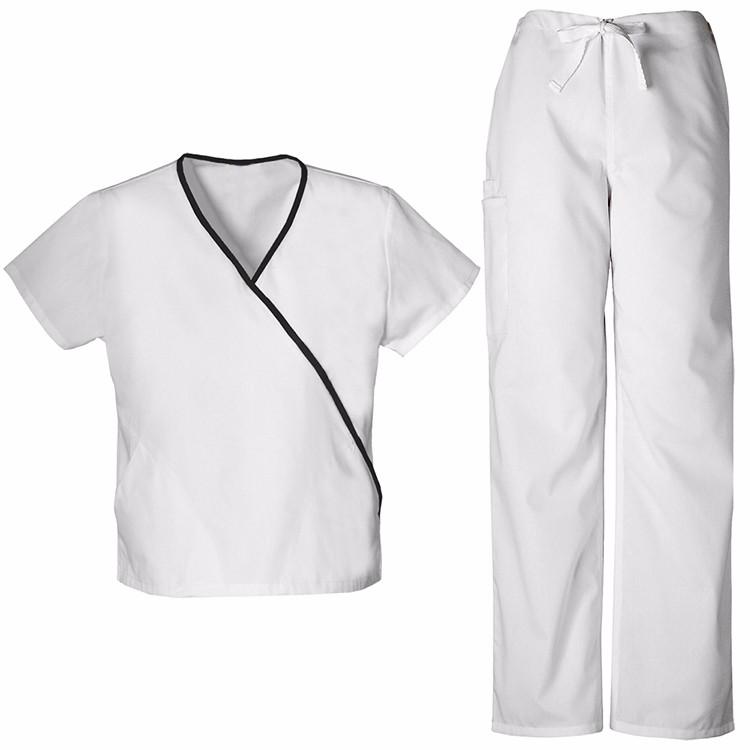 Fashion nurse uniform scrub top design for spa uniforms for Spa uniform south africa