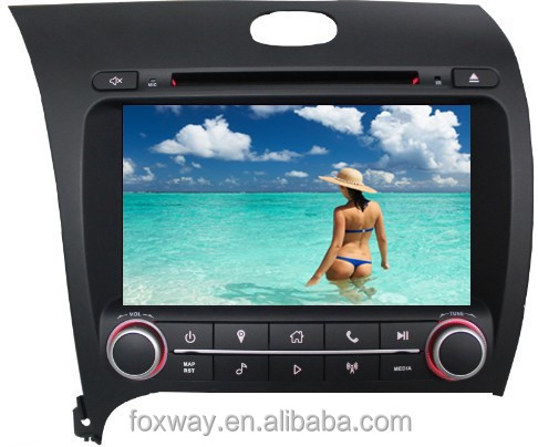 8Inch Auto Multimedia Player Forte DVD with gps navigation system/phonebook/ipod/BT/fm radio/vcd/cd/reverse camera