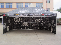 3x6m large pop up motor car parking canopy tent with removable walls