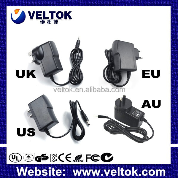 ac adapter 5V 2A dc jack 3.5mm 1.35mm power adapter US EU UK AU Plug CE FCC