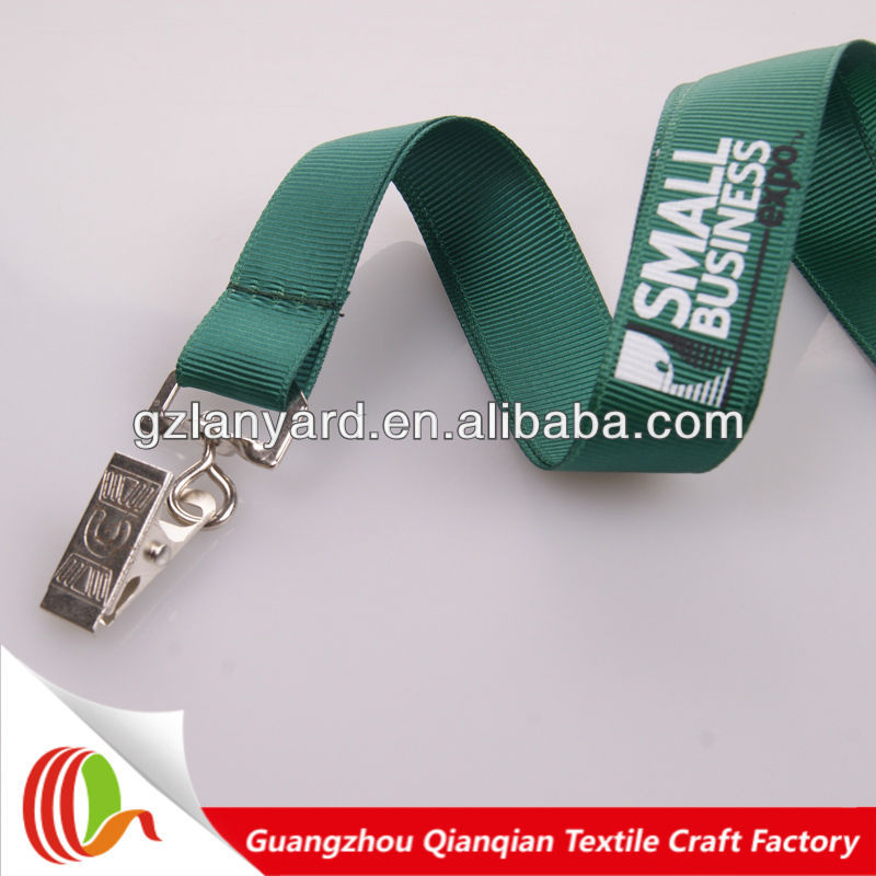 Novelty product custom printed logo neck string& Silk screen printing ribbon lanyard
