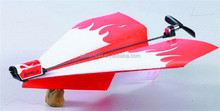 PowerUp 3.0 rc paper airplane radio control airplane paper airplane wing