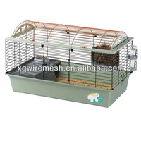 Pet rabbit cage /Newest style collapsible iron pet cages for rabbit