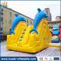 Dolphin model inflatable obstacle course for sale / Guangzhou Huale inflatable Obstacle course for sale