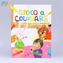 24 Hourse Service Custom Kids Coloring Comic Book Printing Company