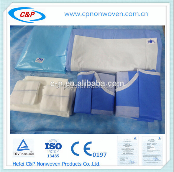 Medical Incision C Section Drape Pack for birth
