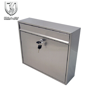 security stainless steel post box Mailboxes