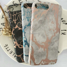 2017 Latest Product Custom OEM Marble Design soft Slim thin TPU PC IMD Case for iPhone 8