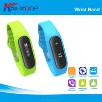Hot Factory With Big Display Screen Sleep Monitor Vibration Alarm Pedometer Bluetooth Smart Bracelet Woman