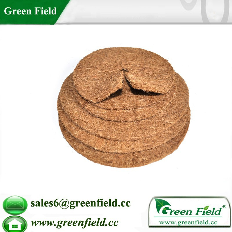 Biodegradable garden coco fiber weed control mat