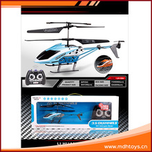 High speed 3 channel infrared radio controlled model helicopter