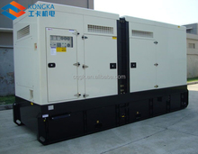 600kw 750kva waterproof power diesel generator with cummins engine