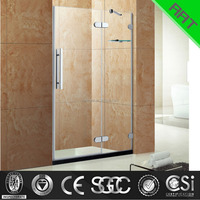 Hinge bathroom shower screen bathroom glass door