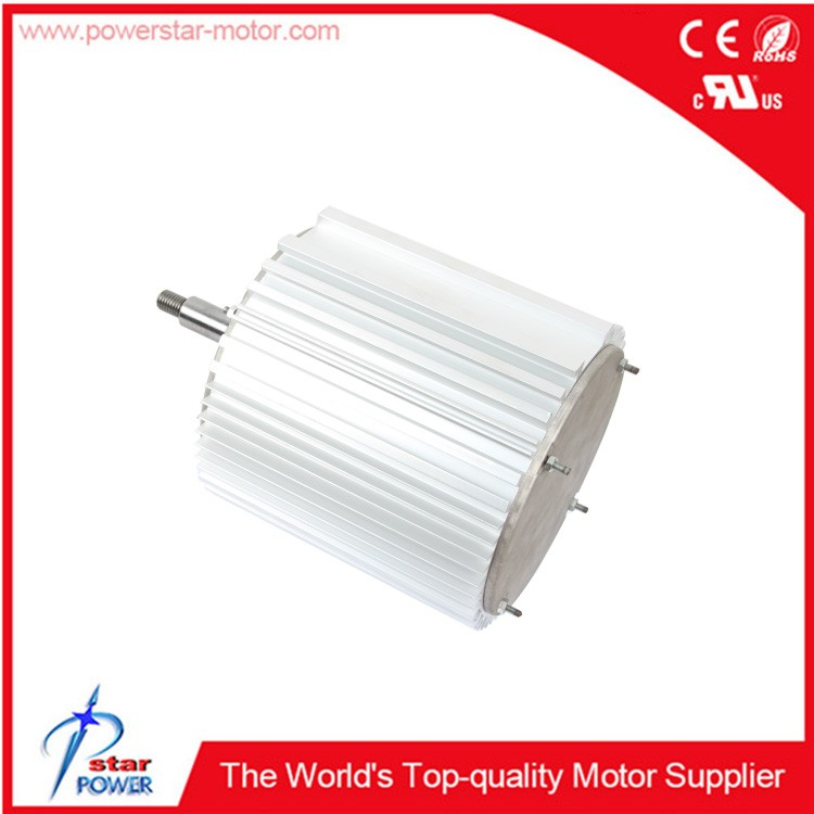 Low noise single phase 1/2hp 220V 50hz 950/1450rpm 2/4A 6 pole ac electric motor price for air cooler motor