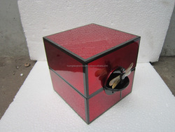 Red Shinny Lacquer Boxes- Classical Boxes for Jewellery- Vietnamese Handmade
