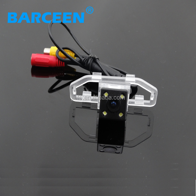 Original type usb car reverse camera waterproof IP69K for TOYOTA CAMRY 2012 With 4LED Night vision