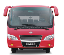 High quality dongfeng special EQ6606LT2 6-7m mini bus for sale