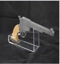 New Products plastic gun case acrylic gun display stand