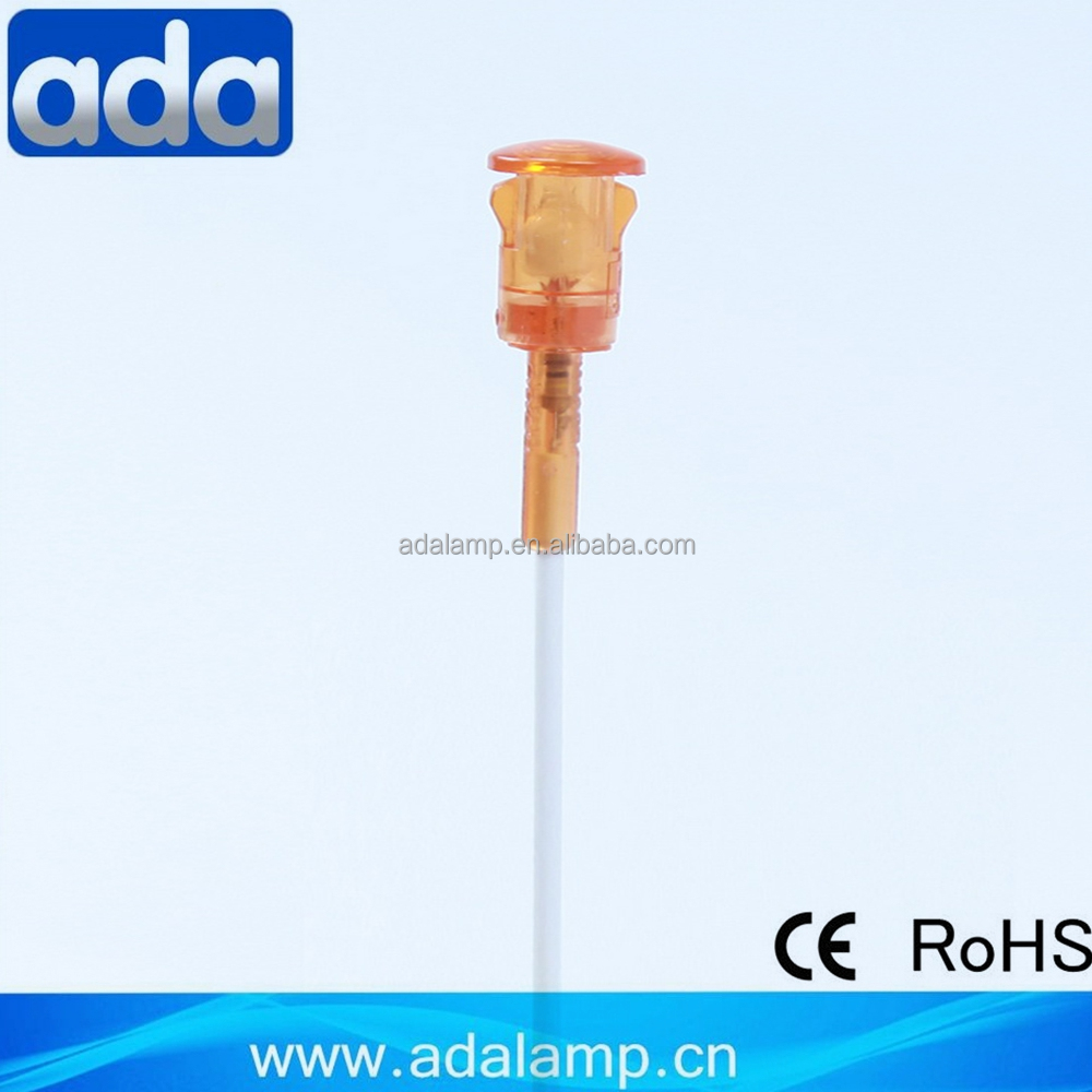 10mm dia A-36 low voltage led indicator light
