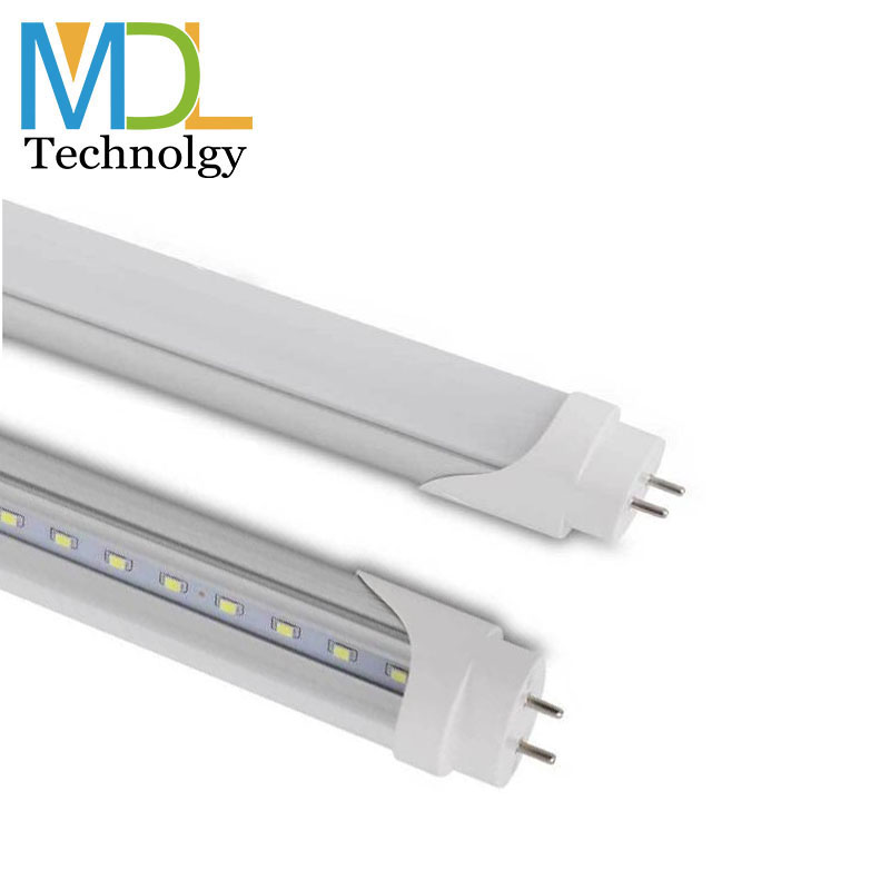 9w pvc material SMD 2835 fission frosted 12w 18w led tube T8 with 2ft 3ft 4ft