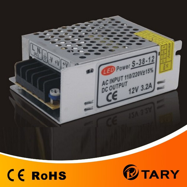 LED power 12V 3.2A/LED switching power supply 12V 3.2A/switching power supply 12V 3.2A for LED