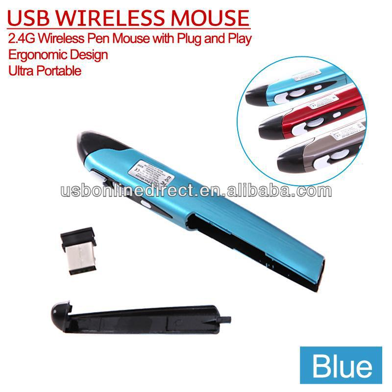 1000 dpi 2.4g wireless presentation pc pen click mouse