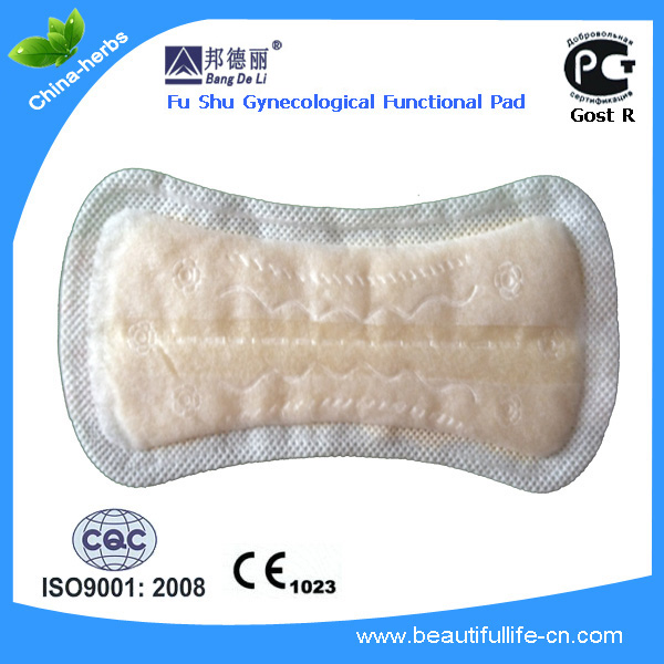 Natural herbal ingredient women's Eco-Pad to cure gynecological inflammation Sanitary Pad