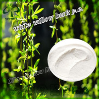 white willow bark extract salicin powder/white willow bark p.e.